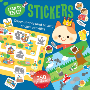 this is an image of an i can do that sticker book