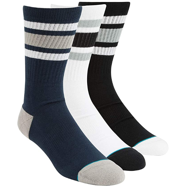 This is an image of a 3 pack men's socks for Stance.