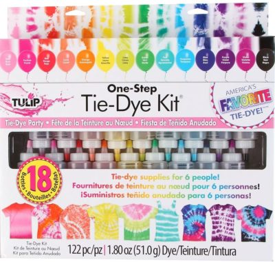 This is an image of an 18 Colors and 100-pc Rubber Brands die kit.