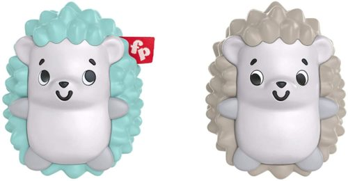 This is an image of Fisher-Price Hedgehog Shaker Twins