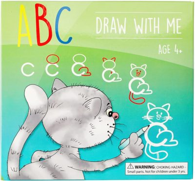 This is an image of MD Creative ABC Draw with Me | Animal Alphabet Card Set