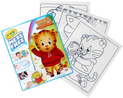 This is an image of Crayola Color Wonder, Daniel Tiger's Neighborhood