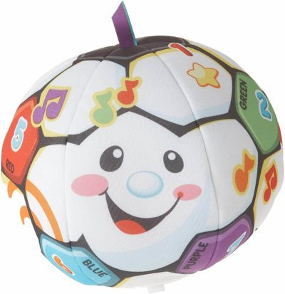 This is an image of Fisher-Price Laugh & Learn Singin' Soccer Ball