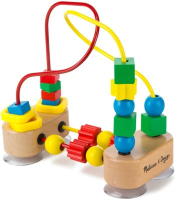 This is an image of Melissa & Doug First Bead Maze