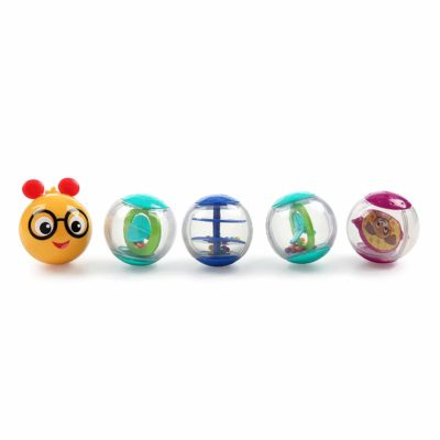 This is an image of Baby Einstein Roller-pillar Activity Balls Toy, Ages 0 months +