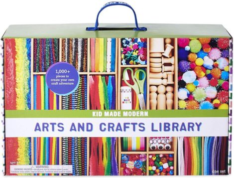 This is an image of Kid Made Modern New Arts and Crafts Library Set