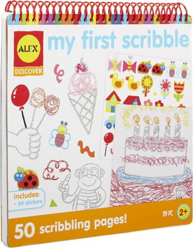 This is an image of Alex Discover My First Scribble Kids Art and Craft Activity