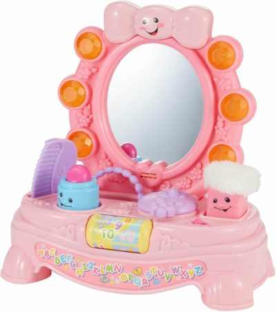 This is an image of Fisher-Price Laugh & Learn Magical Musical Mirror [Amazon Exclusive]
