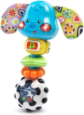 This is an image of VTech Baby Rattle & Sing Puppy (Frustration Free Packaging)