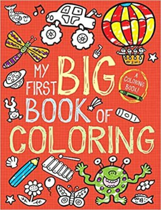 This is an image of My First Big Book of Coloring