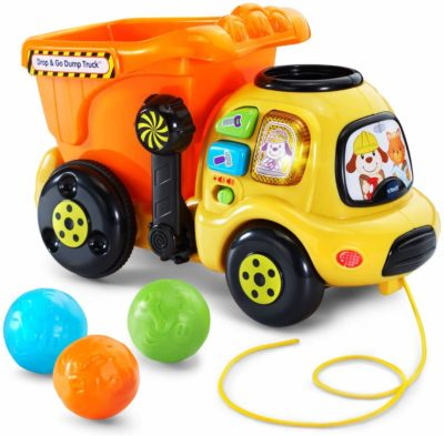 Image of VTech Drop and Go Dump Truck Amazon Exclusive