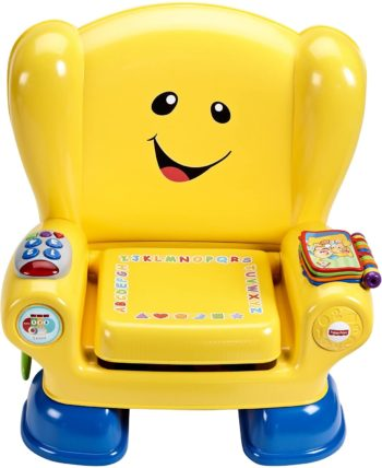 This is an image of Fisher-Price Laugh & Learn Smart Stages Chair, retail_packaging