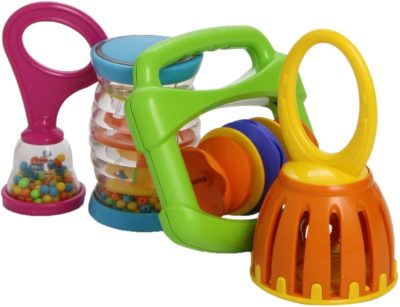 This is an image of Hohner Kids Muscial Toys MS9000 Baby Band, Colors of Product May Vary