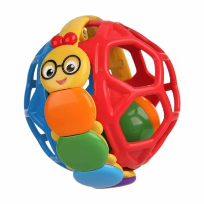 This is an miage of Baby Einstein Bendy Ball Rattle Toy, Ages 3 months +