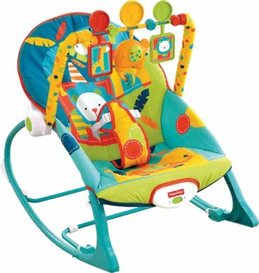 This is an image of Fisher-Price Infant-to-Toddler Rocker - Circus Celebration