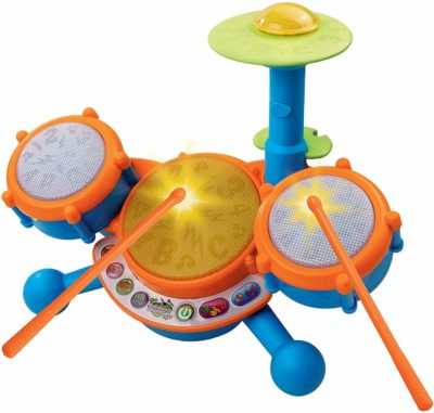 This is an image of VTech KidiBeats Kids Drum Set