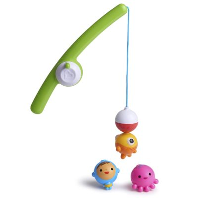 This is an image of Munchkin Fishin' Bath Toy