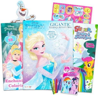 This is an image of Disney MLP Coloring Book Super Set