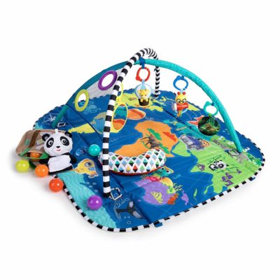 This is an image of Baby Einstein 5-in-1 Journey of Discovery Activity Gym and Play Mat, Ages Newborn +
