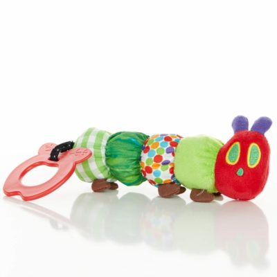This is an image of World-Hungry-Caterpillar-Teether-Rattle