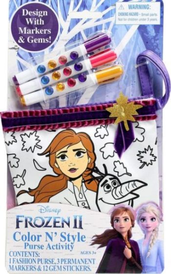 This is an image of Frozen 2 Color N Style Small Purse