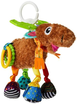 This is an image of Lamaze Mortimer The Moose, Clip On Toy