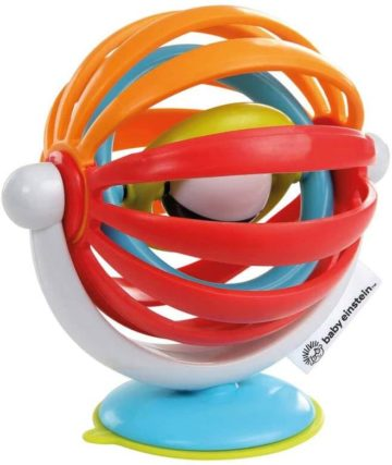 This is an image of Baby Einstein Sticky Spinner Activity Toy, Ages 3 Months +