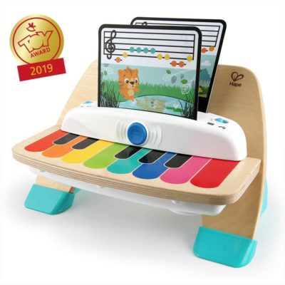 This is an image of Baby Einstein Magic Touch Piano Wooden Musical Toy Toddler Toy, Ages 12 months and up