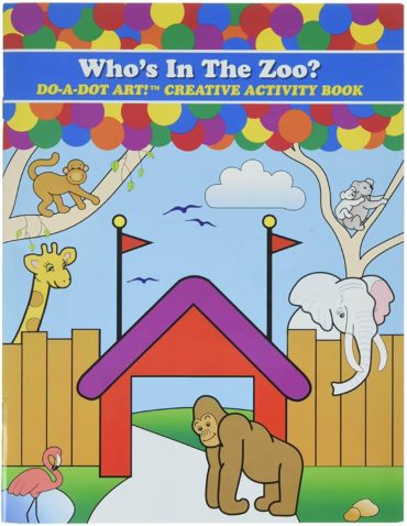 This is an image of Do A Dot Art Coloring Books for Kids