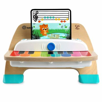 This is an image of Baby Einstein Magic Touch Piano Wooden Musical Toy Toddler Toy, Ages 6 months and up