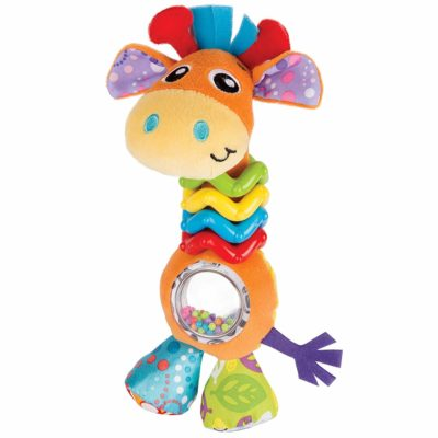 This is an image of Playgro My First Bead Buddies Giraffe for baby infant toddler children 0181561107, Playgro is Encouraging Imagination with STEM/STEM for a bright future - Great start for a world of learning