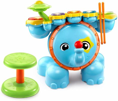 This is an image of VTech Zoo Jamz Stompin' Fun Drums