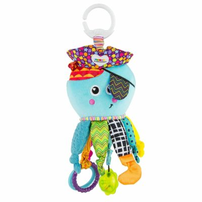 This is an image of Lamaze Clip on Toy, Captain Calamari