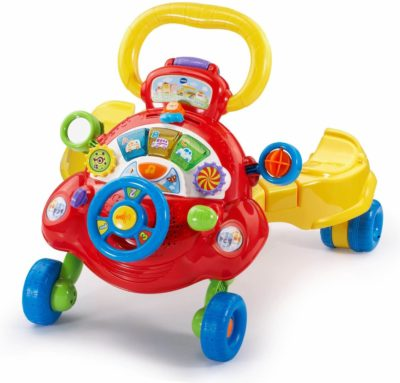 This is an image of VTech Sit, Stand and Ride Baby Walker (Frustration Free Packaging) (Amazon Exclusive)