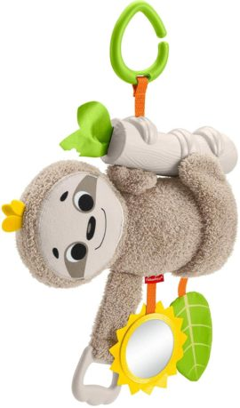 This is an image of Fisher-Price Slow Much Fun Stroller Sloth