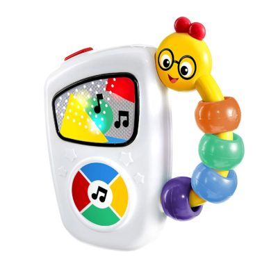This is an image of a colorful handy musical toy for babies.