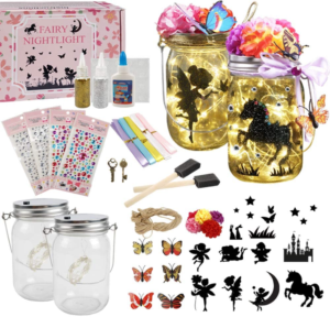 this is an image of a fairy lantern craft kit