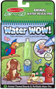 this is an image of melissa & Doug water wow coloring