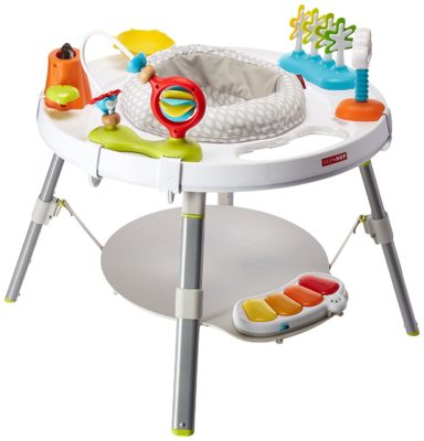 This is an image of a modern multi color baby center.