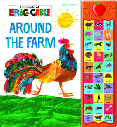 Image of Around the Farm by Eric Carle