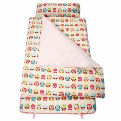 Image of SoHo Kids Extra Roomy Nap Mat, Just Owls