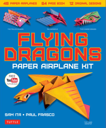 This is an image of Dragon Paper Airplanes