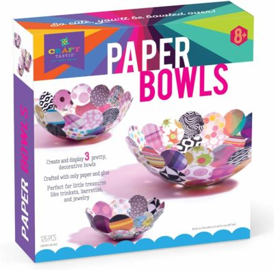 This is an image of Craft-Tastic Paper Bowls