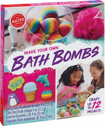 Image of Klutz Make Your Own Bath Bombs Craft & Activity Kit