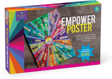 Image of Craft-tastic – Empower Poster – Craft Kit – Design a One-of-a-Kind Inspirational Poster