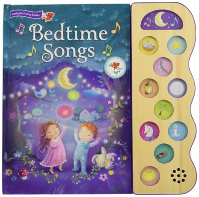 This is an image of a Bedtime Songs children's book.