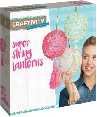 This is an image of a chic lantern for teenagers.