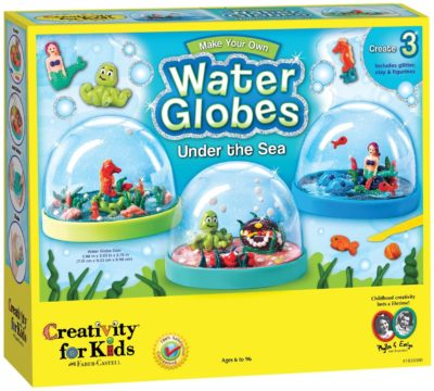 This is an image of a snow globe kit in under the sea edition.