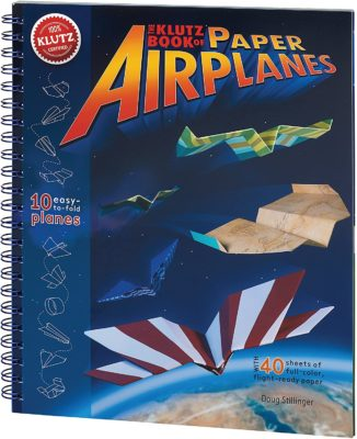 This is an image of a airplane paper toy for kids.