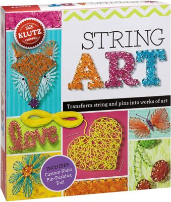 This is an image of a colorful art string for teenagers.